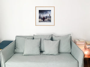 Decoration-home-Himalayas-living-room-silver-India-print