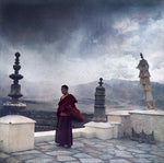 Load image into Gallery viewer, Moine monastère Himalaya Fresson print monastery monks India