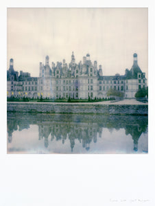 Impression polaroid grand format chateau de Chambord France