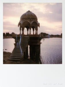Impression polaroid large format Jaisalmer India photo deco