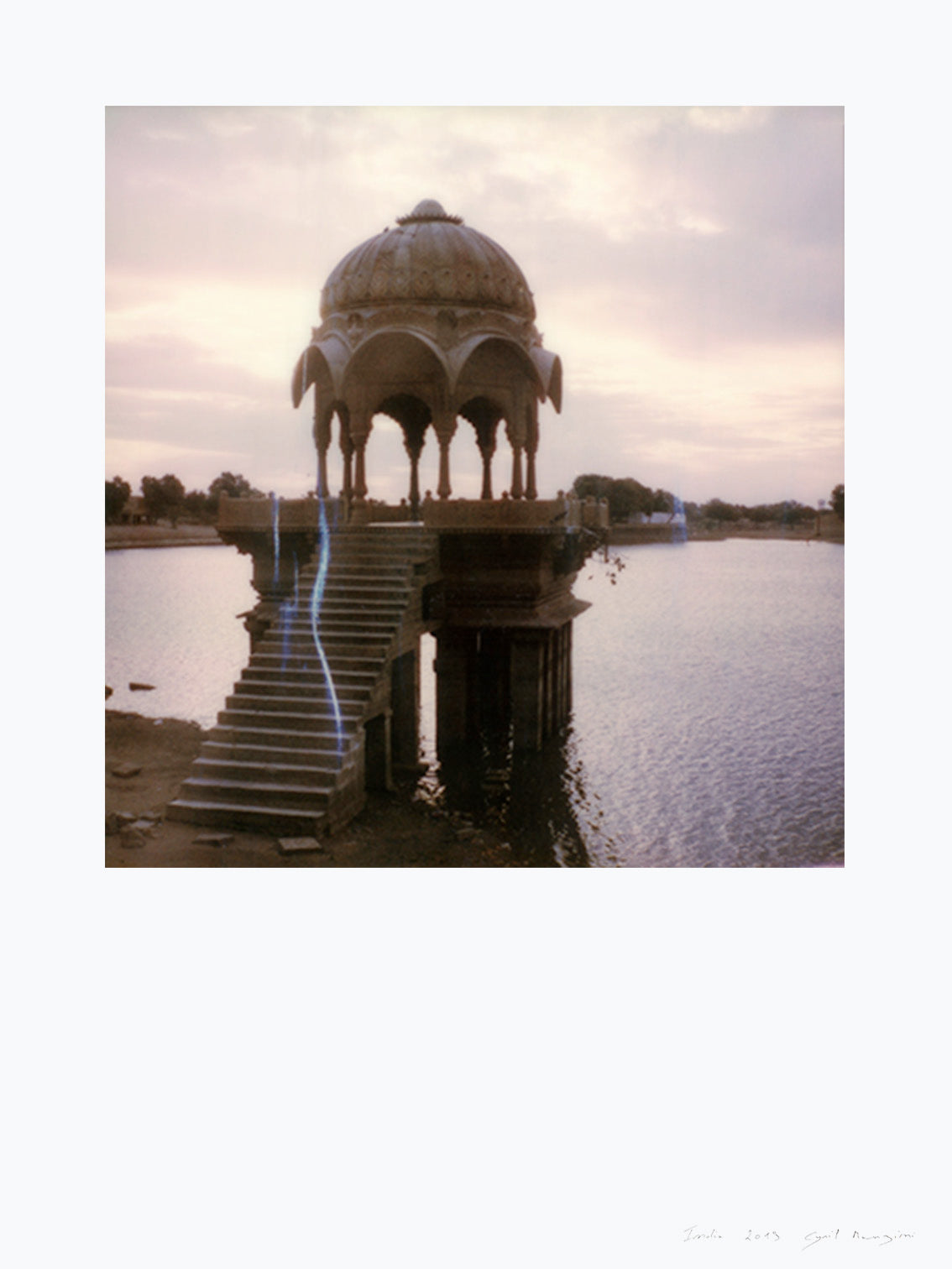Polaroid print Jaisalmer India photo deco