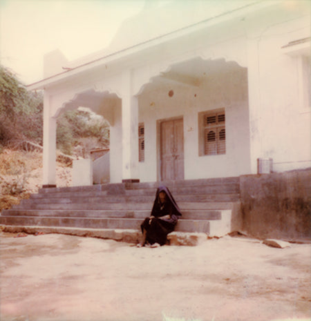 Polaroid Rabari woman Gujarat India
