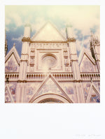 Load image into Gallery viewer, Impression polaroid Grand format de la cathédrale d'orvieto