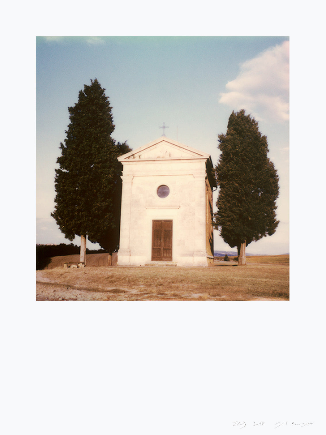 Photography Church Italy Tuscany Orcia valley small