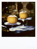 Load image into Gallery viewer, Impression polaroid grand format citrouille nature morte Italie