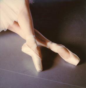 Polaroid print ballet dancer impression Paris