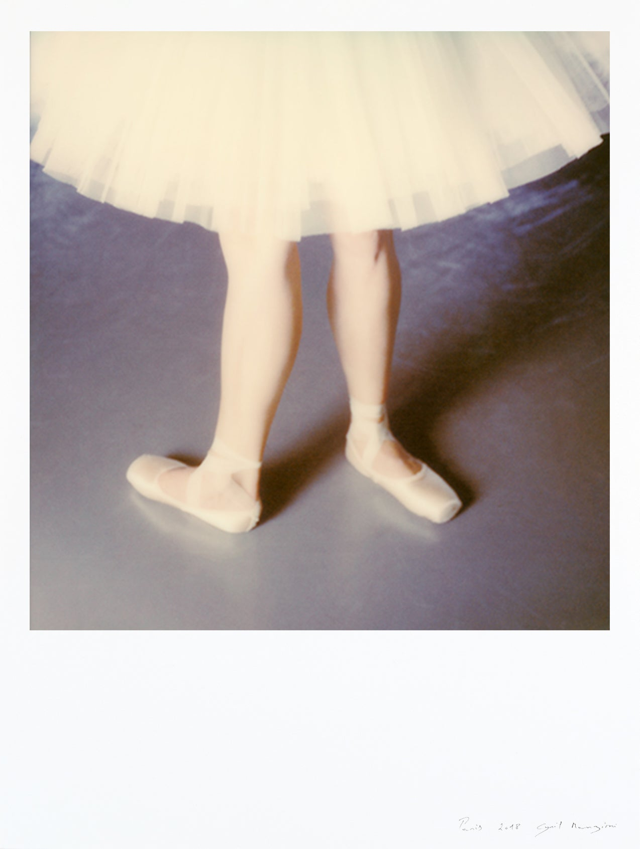 Impression-polaroid-danseuse-classique-30x40cm-grand-format-Opera-paris-deco