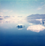 Load image into Gallery viewer, Polaroid print iceland iceberg decoration photo