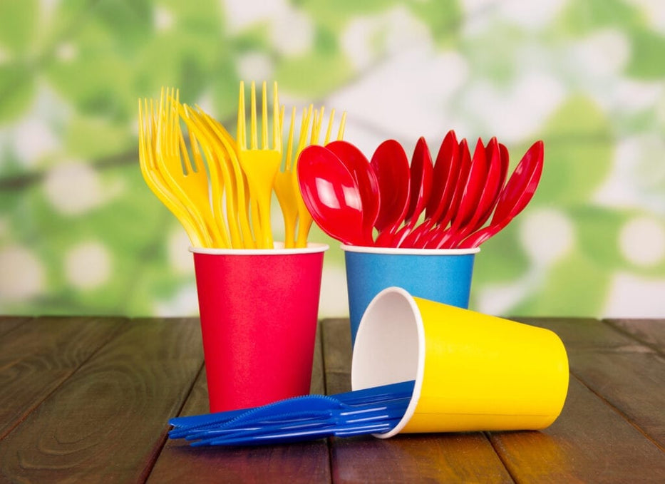 How avoiding plastic made forks and spoons are good for the environment?