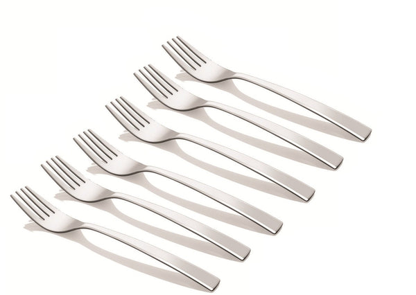 Shapes Alpha Tea Fork 12 pcs in MATT Finish