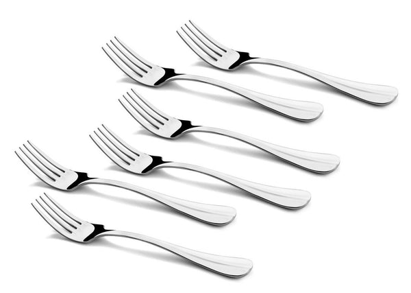 Shapes Rose Cake Fork 6 Pcs