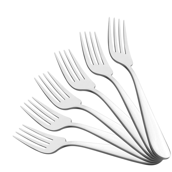 Colin 304 grade, 18/10 & Cup Rolled Dinner Fork 6 pcs
