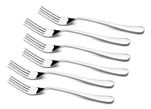 Shapes Orbit Stainless Steel Dinner Fork Set for Home/Kitchen,6 Pieces