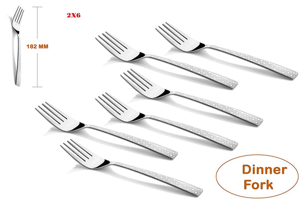 Koko Alpha Laser Dinner Fork 12 pcs