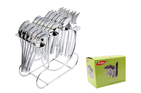 Koko Aster Cutlery Set 25 Pieces