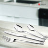 Shapes Lynex Cutlery Set of Spoon & Fork 18 Pcs with Brown Box