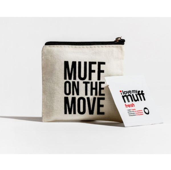 MUFF ON THE MOVE - 6 PK FRESH WIPES