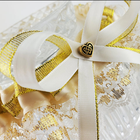 Celtic Heart Wedding Garter or Garter Set