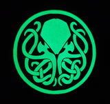 Glow in the Dark Cthulhu Face Mask- HP Lovecraft