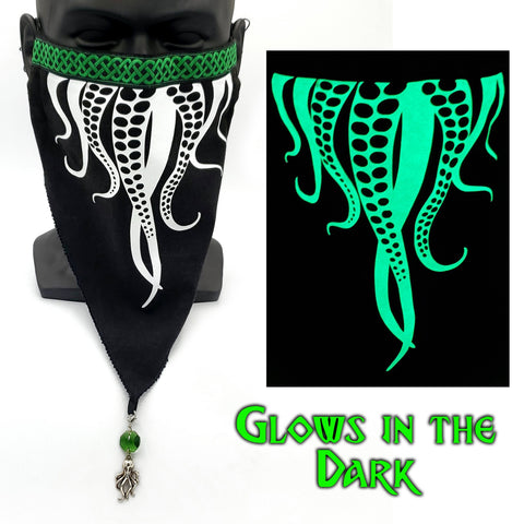 Cthulhu Tentacles Octopus Genie Mask For Renaissance Faires, Cosplay & LARP