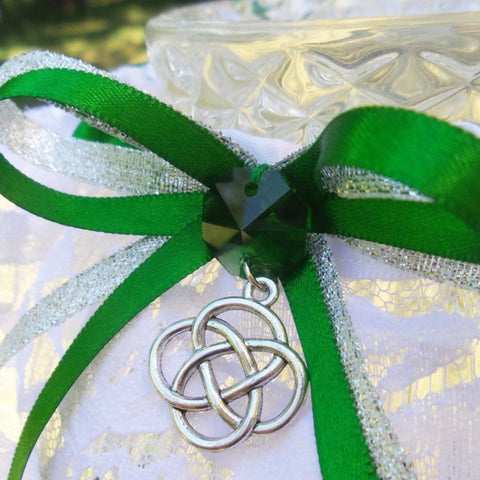 Celtic Knot Wedding Garter or Garter Set