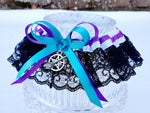 White Witch Handfasting Garter or Garter Set