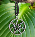 Elven Fairy Star Septagram Necklace