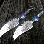 Angel & Raven Wing Earrings