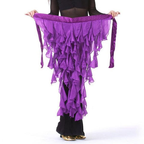 Long Bustle or Hip Scarf Available in Many Colors