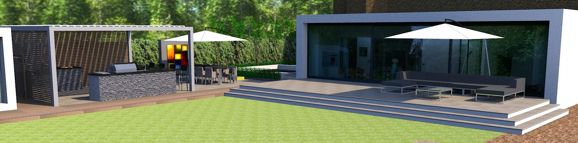 Lush Landscaping Design and Build Services - Slide 3