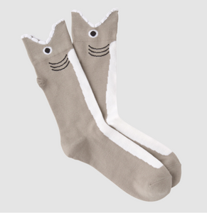 Mens shark socks