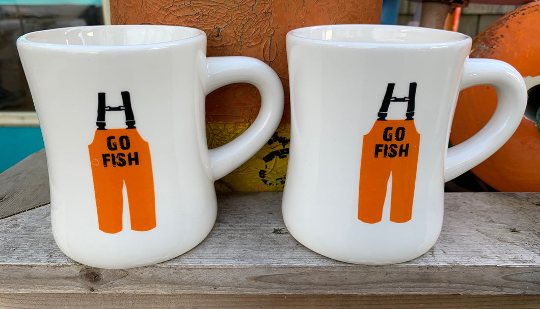 Go fish mug- set of 2