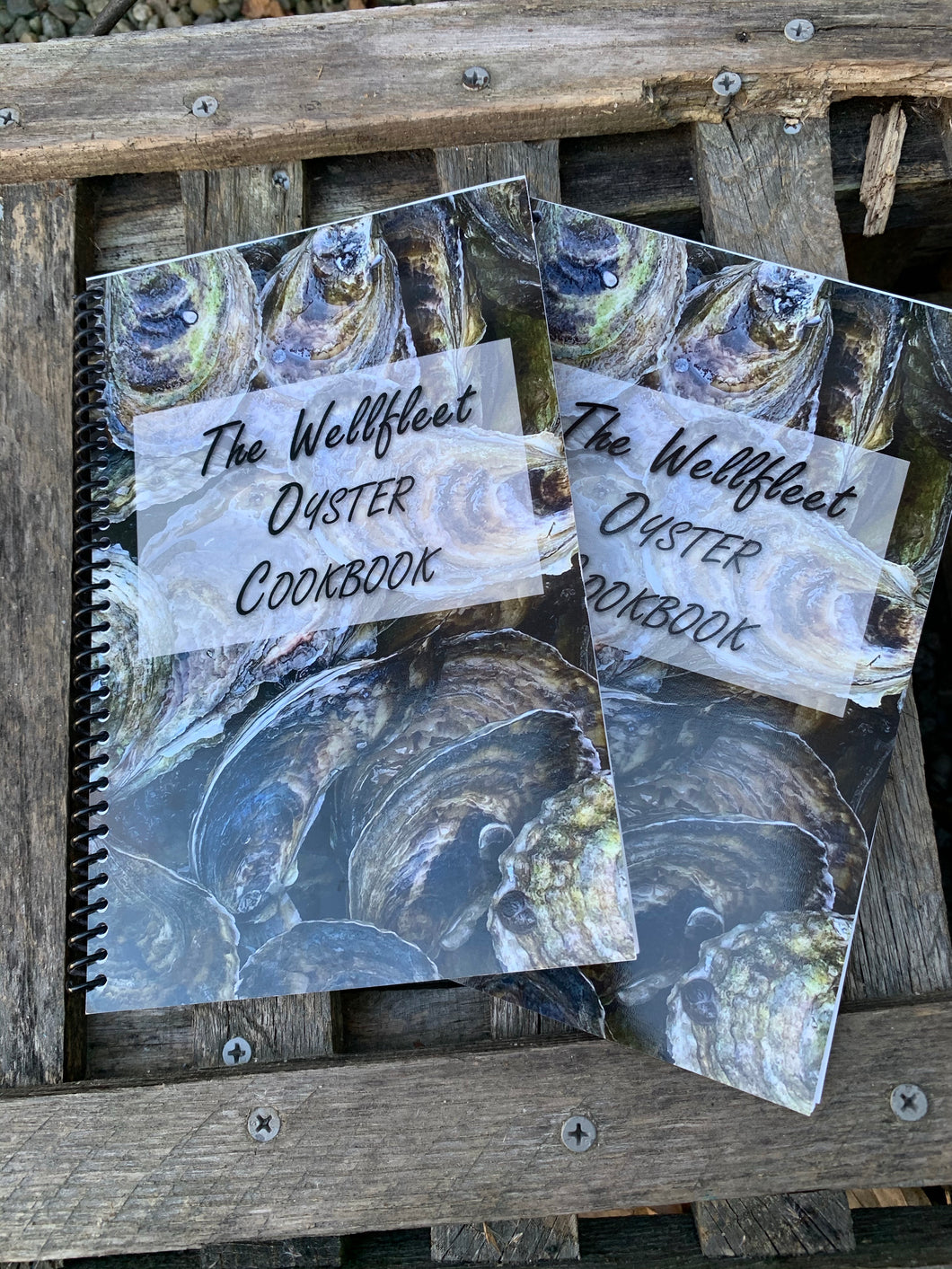 Wellfleet oyster cookbook