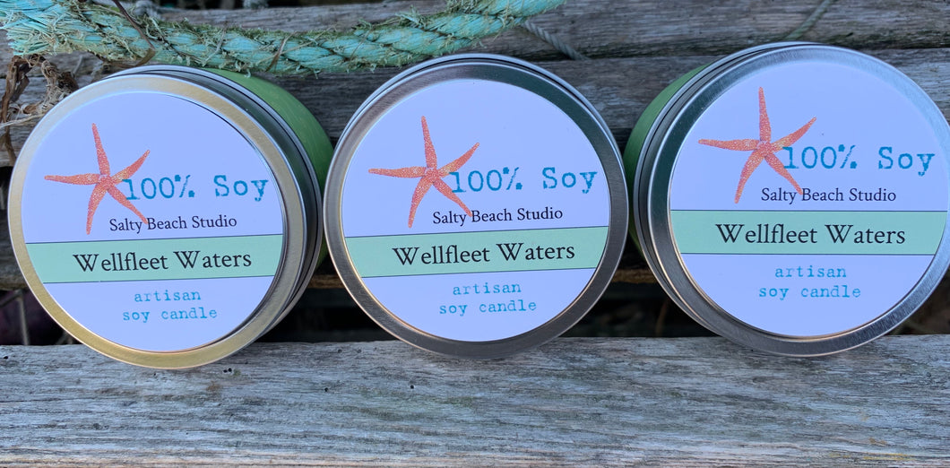 Wellfleet waters candle