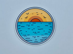 Sunrise decal
