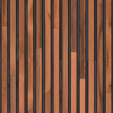 TIM-01 Teak on black Timber Strips