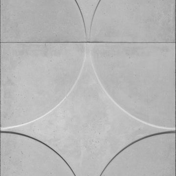 NDE-01 Circle Moulded Concrete