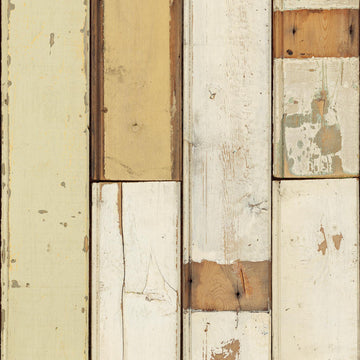 PHE-01 White/Beige Scrapwood