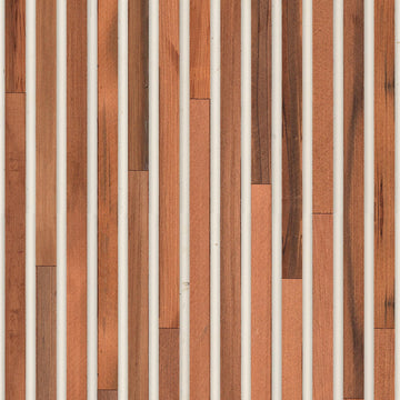 TIM-02 Teak on white Timber Strips