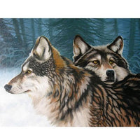 Wolf Diy Paint By Numbers Kits VM90227