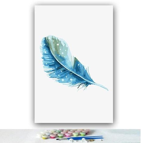 Feather Diy Paint By Numbers Kits PBN97961