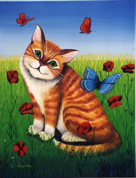 Pet Cat Paint By Numbers Kits VM90670