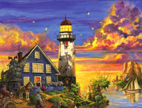 Landscape Lighthouse Diy Paint By Numbers Kits PBN91129