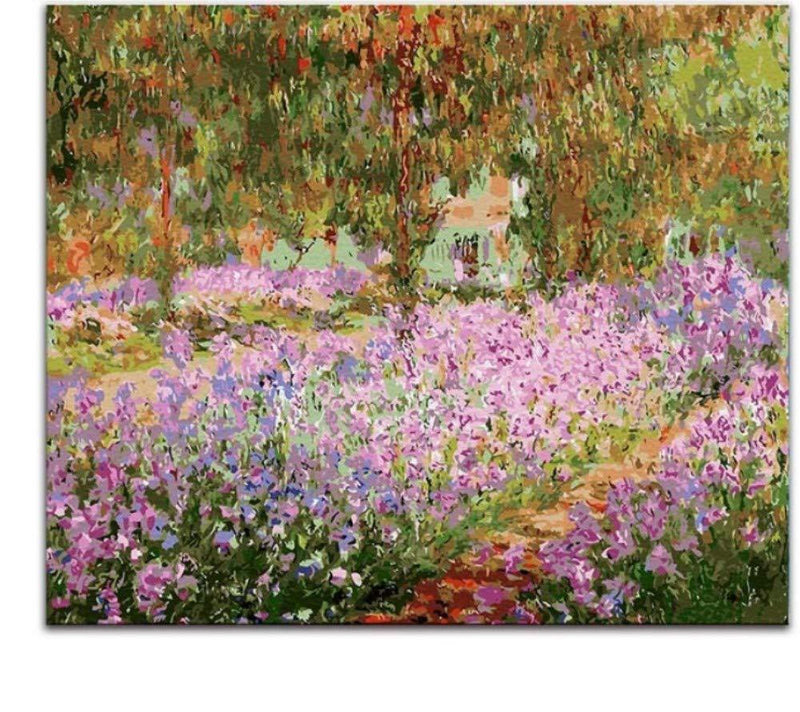 Claude Monet's Diy Paint By Numbers Kits PBN91243