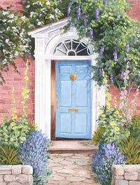 Garden Door Diy Paint By Numbers Kits PBN92130