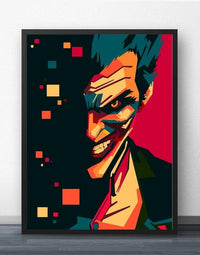 Joker Pop Art  Diy Paint By Numbers Kits PBN92485