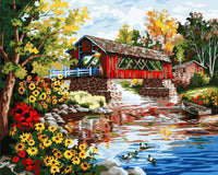 Village Scenery Diy Paint By Numbers Kits PBN94109