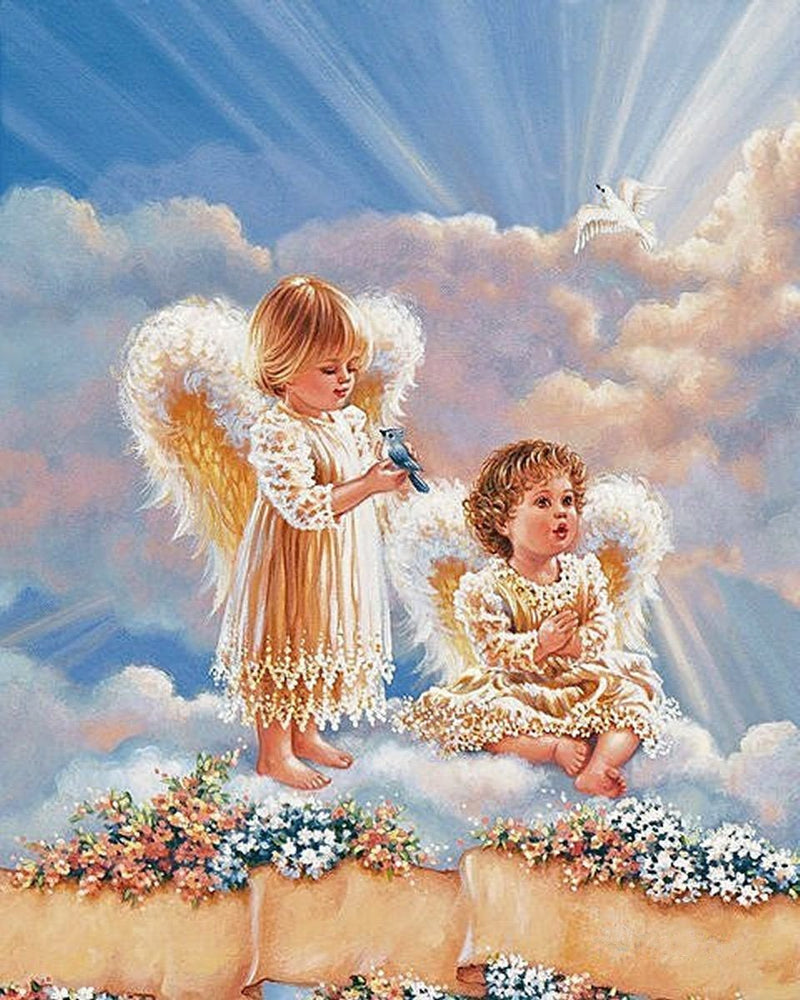 Angel Diy Paint By Numbers Kits PBN94375