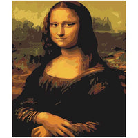 Mona Lisa Diy Paint By Numbers Kits PBN95377