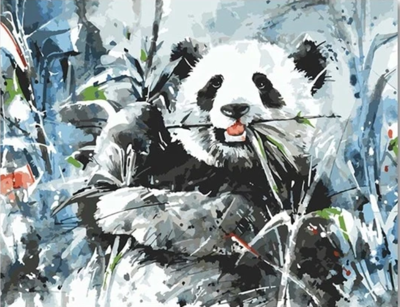 Pandas Diy Paint By Numbers Kits PBN91214